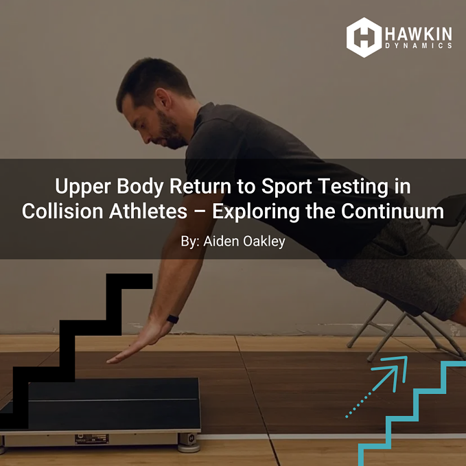 Upper Body Return to Sport Testing in Collision Athletes – Exploring the Continuum